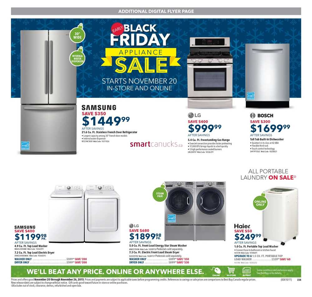 100 best deals on washers and dryers black friday washers u