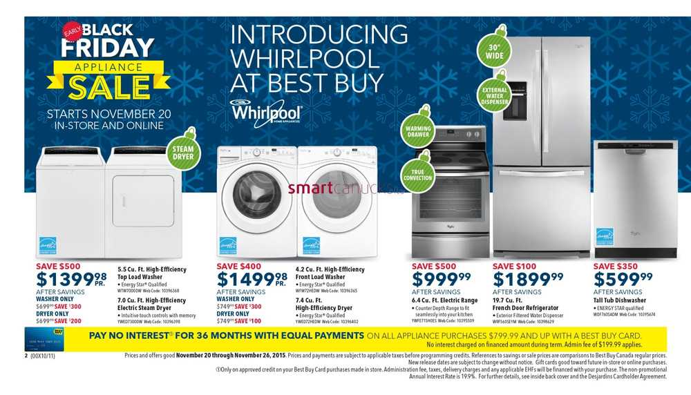 Best Buy Canada Early Black Friday Flyer Deals 2015