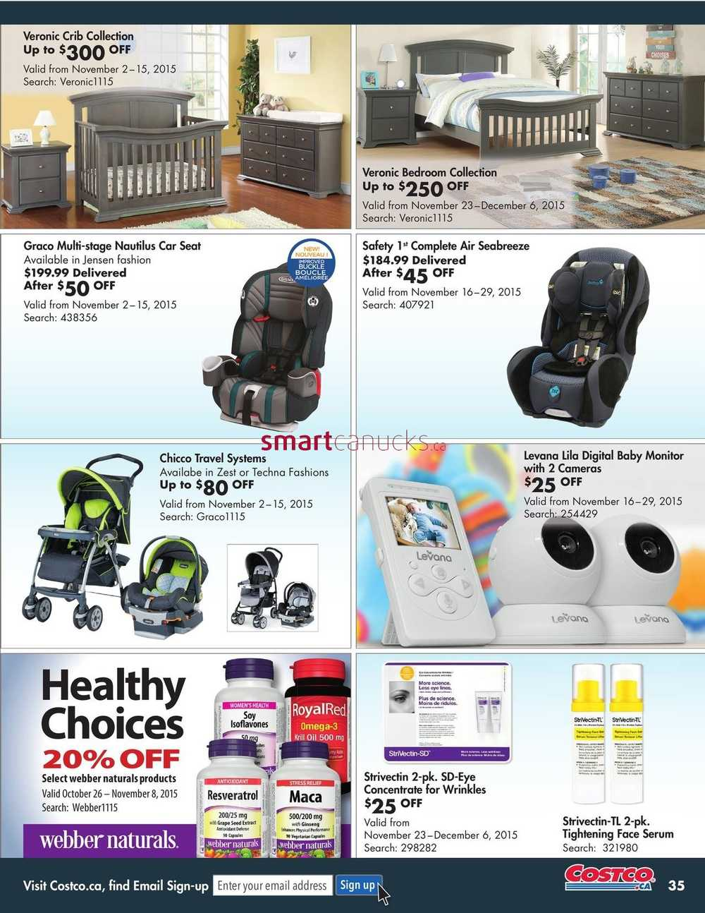 Costco online catalogue november december