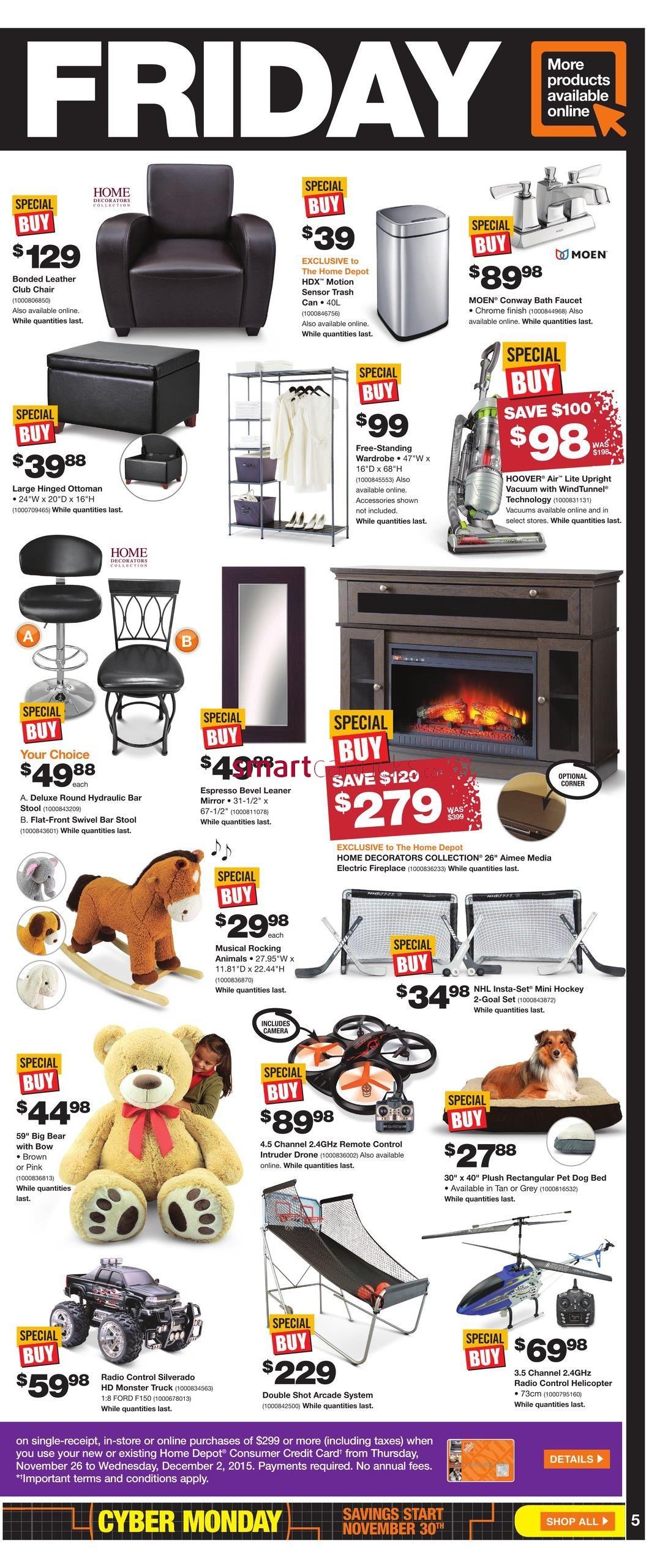 Spring Black Friday Ad at Home Depot BOGO Vegetable Packets & More