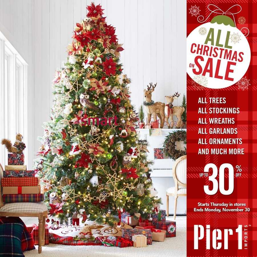 Pier 1 Imports Flyer November 26 to 30. Pier 1 Imports Canada Flyers