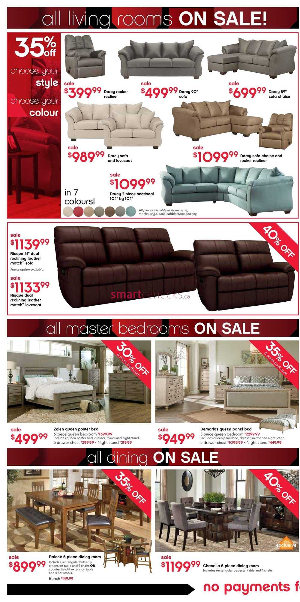 Ashley Furniture Home Store West Black Friday Flyer November 26 To