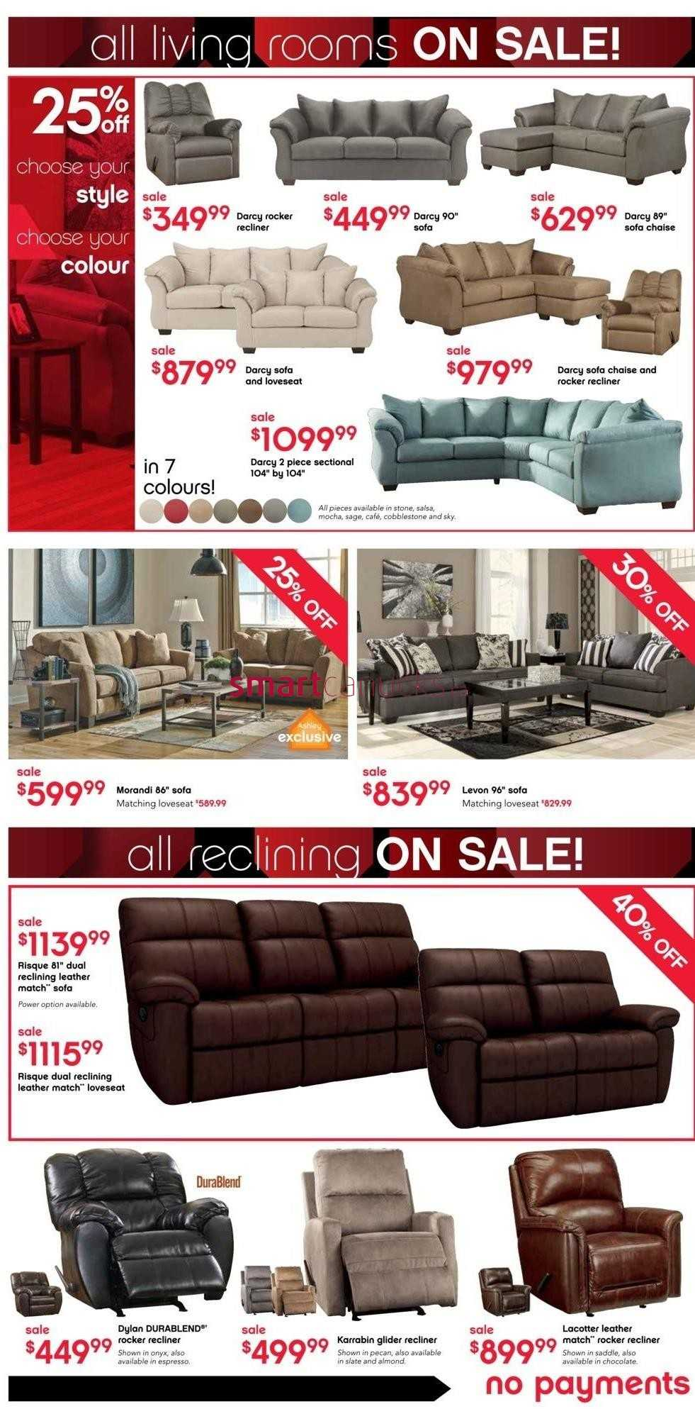 Ashley Furniture Home Store On Black Friday Flyer November 26 To December 2