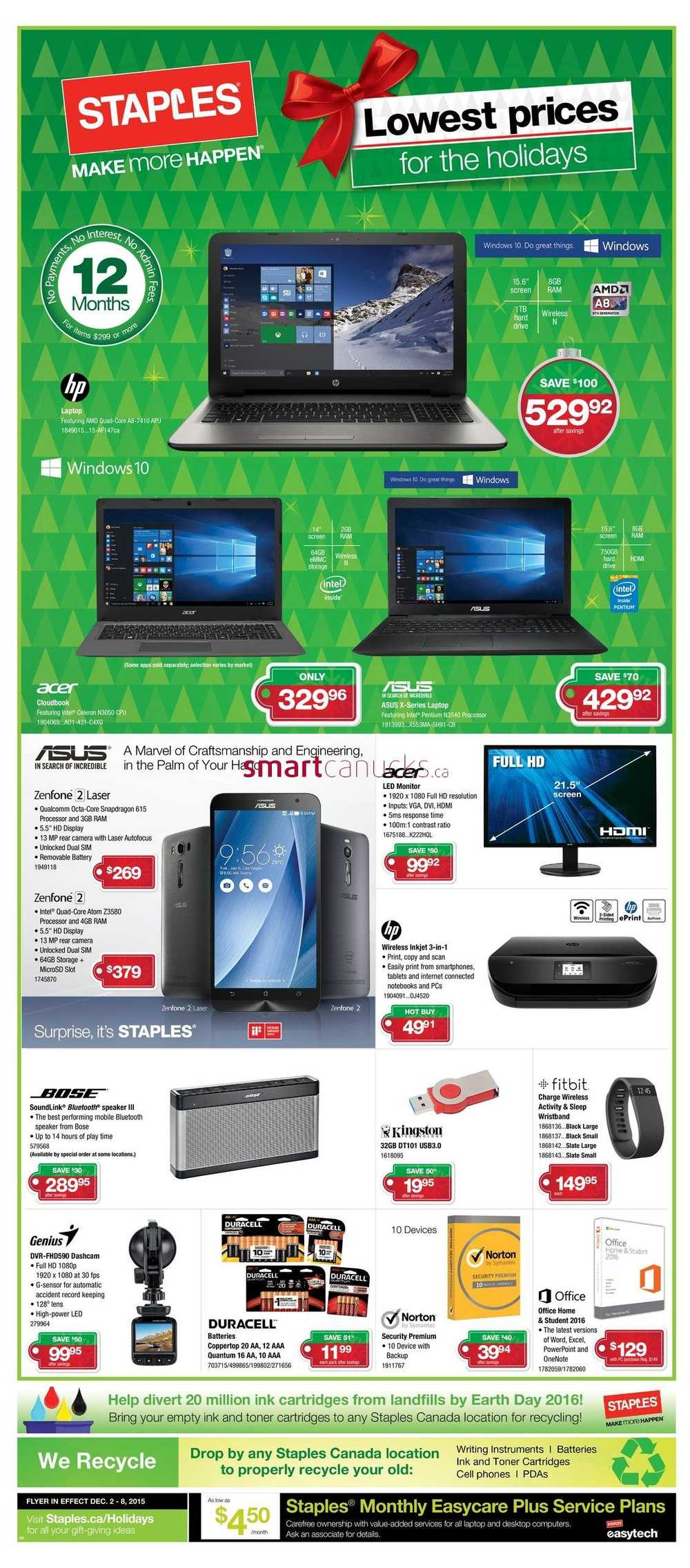 View the Staples Flyer Prices, valid December 5 – December 11, Save with this week Staples Sales and weekly flyer deals & promotions. The company is one of the best-regarded retailers of printers, computers, electronics, office furniture and office supplies.