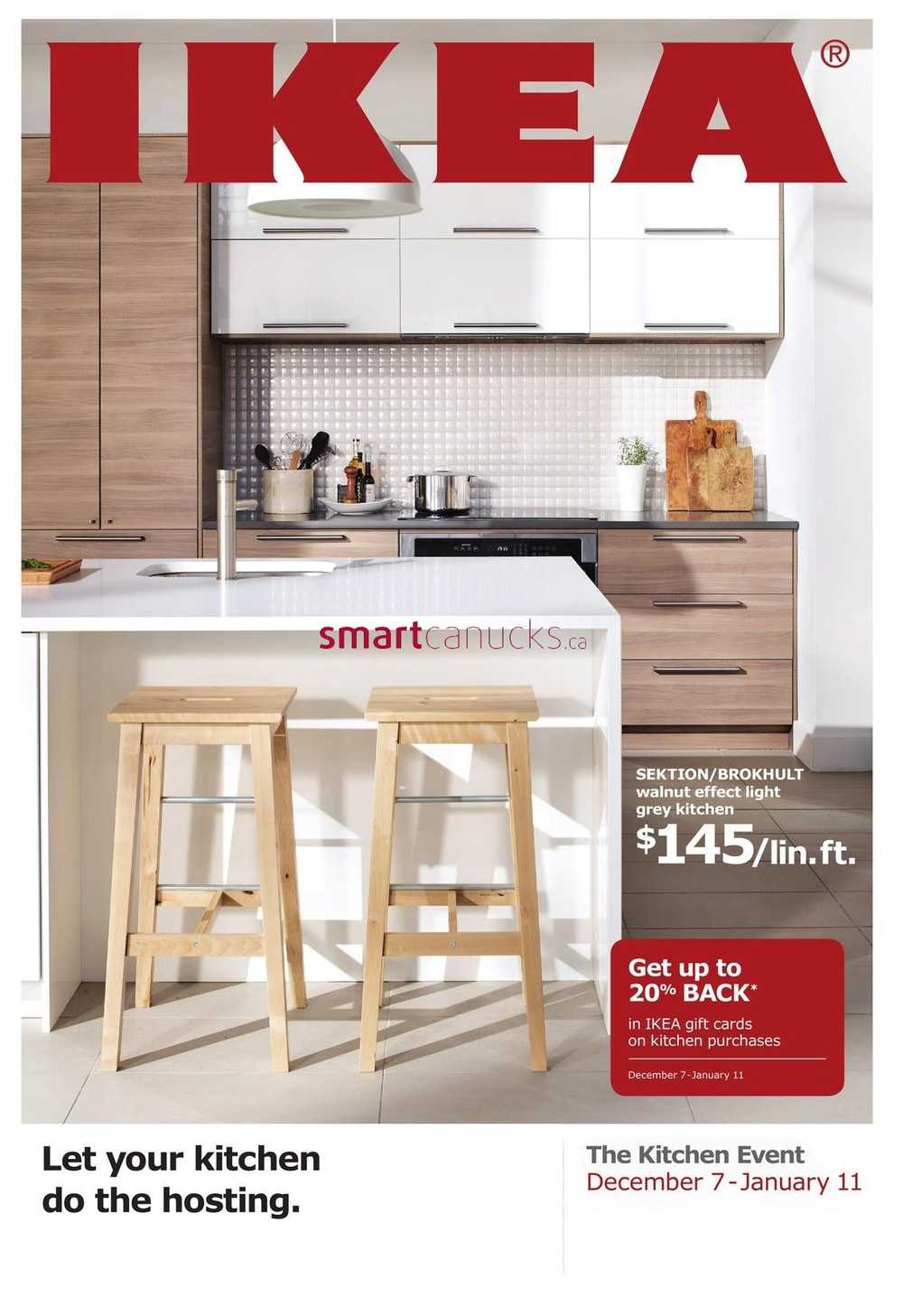 Ikea The Kitchen Event Flyer December 7 To January 11