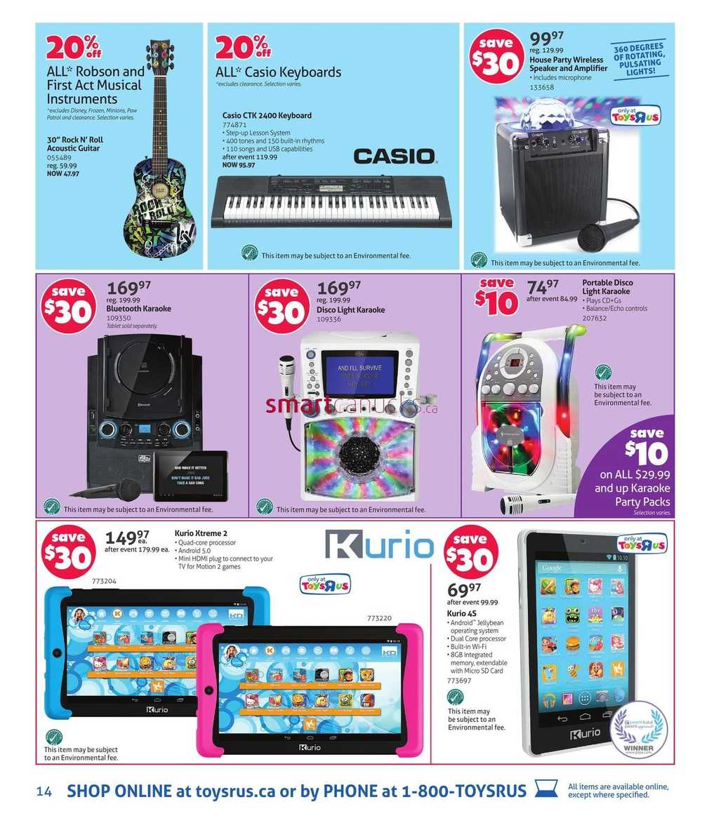 Toys r us qc flyer december 11 to 17 for Cuisinette toys r us