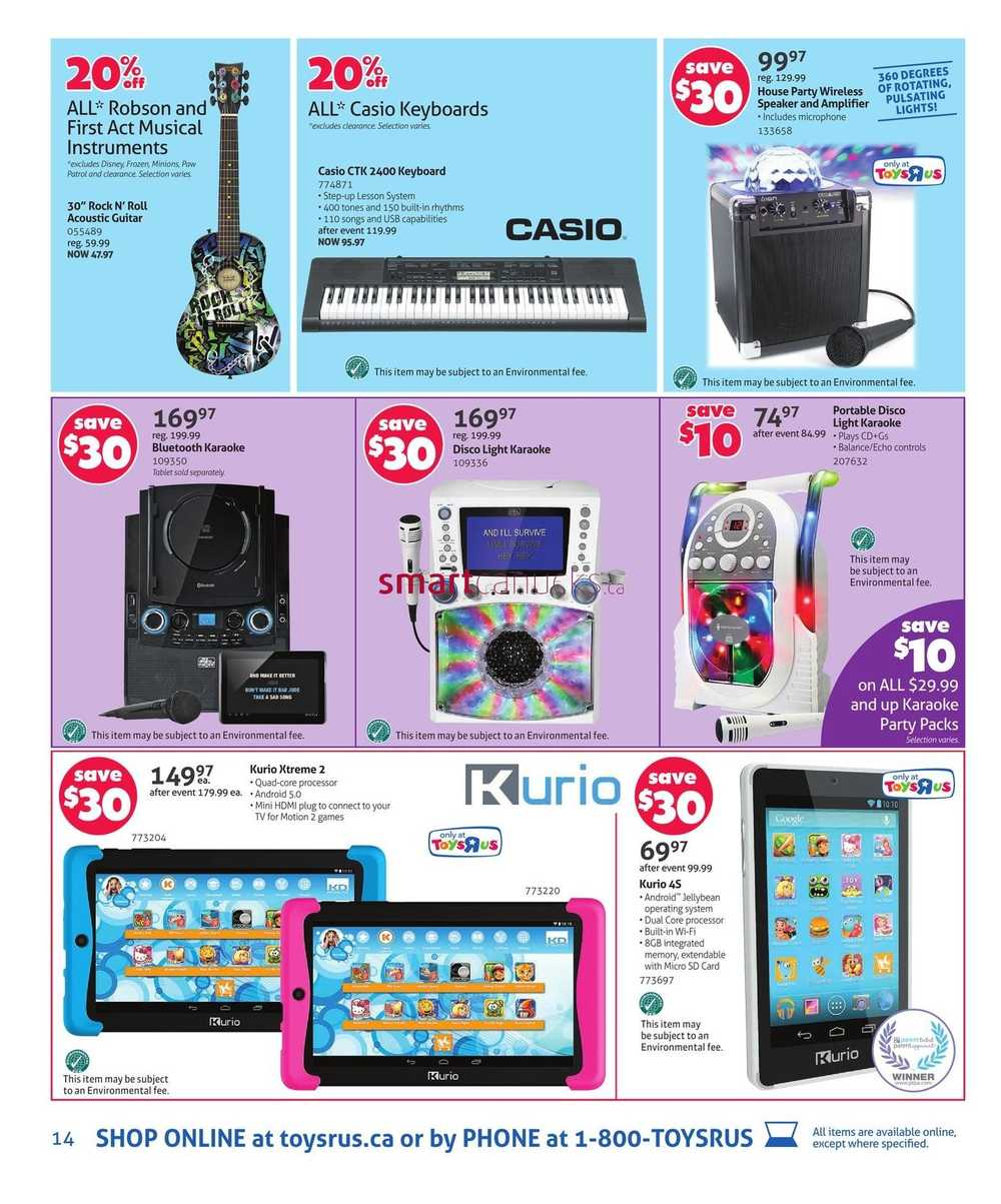 Toys R Us Flyer December 11 to 17