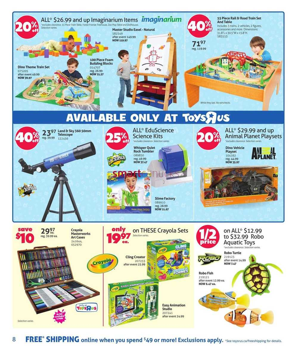 All Toys Toys R Us : Toys r us flyer december to
