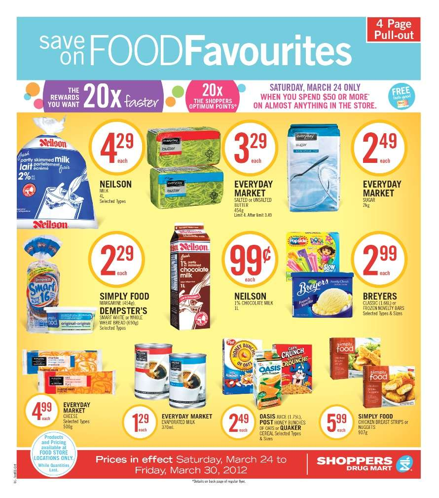 Shoppers Drug Mart Home Page