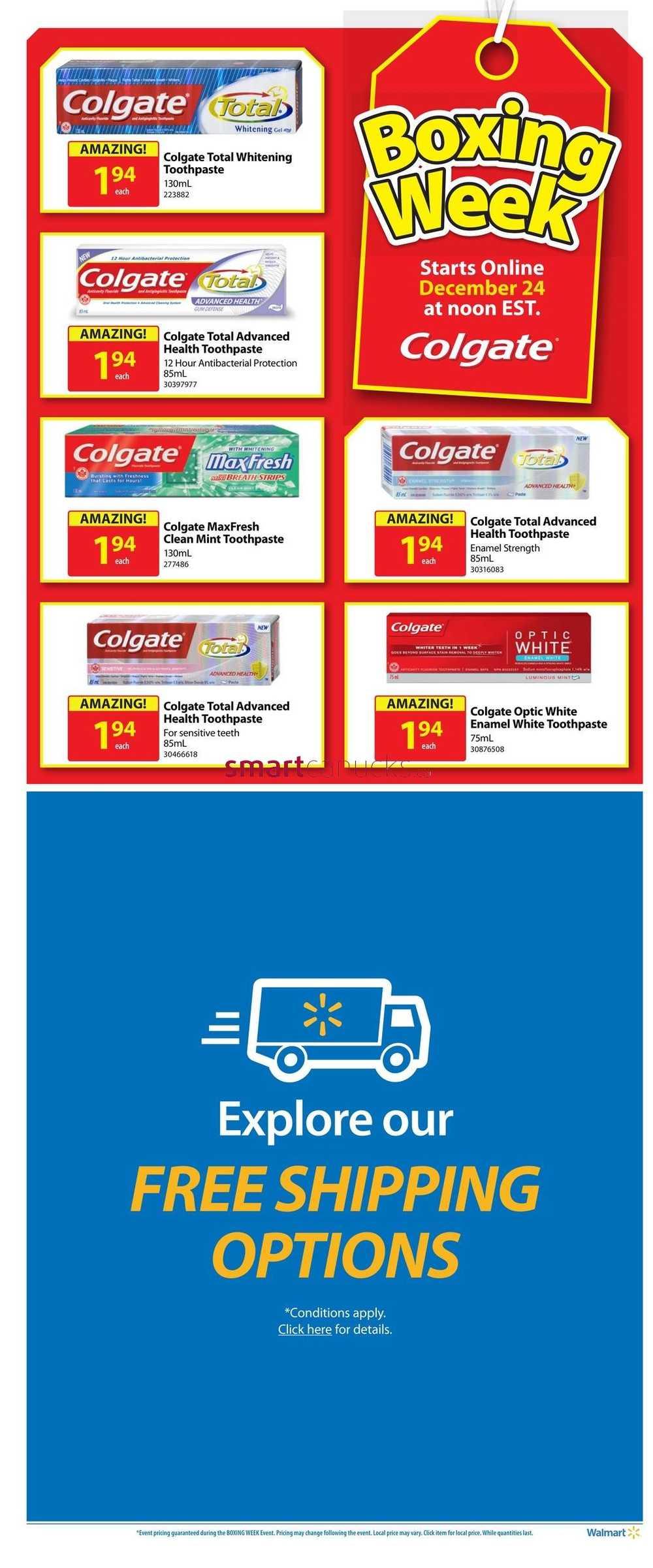 Walmart online coupons canada