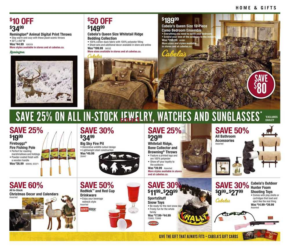 Cabela S Boxing Week Flyer December 26 To January 6