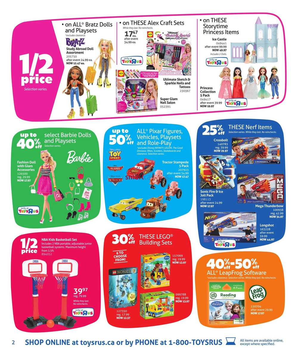 Toys R Us Canada Boxing Day / Boxing Week Flyer Deals 2015
