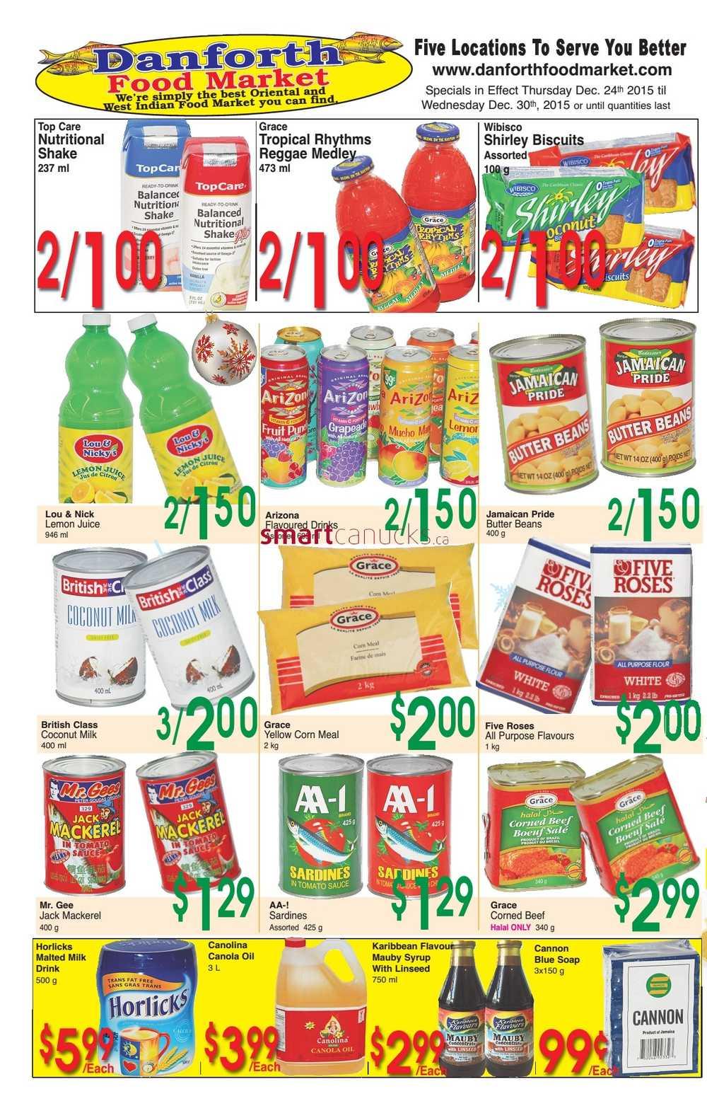 Danforth Food Market Flyer December 24 To 30