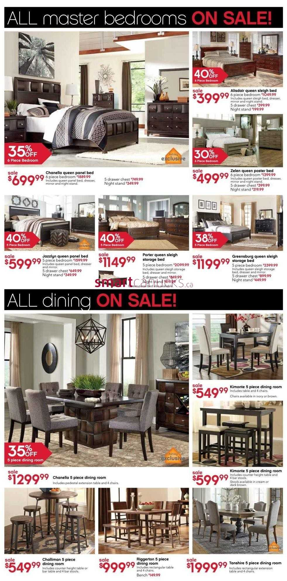 Ashley Furniture Home Store On Flyer December 28 To
