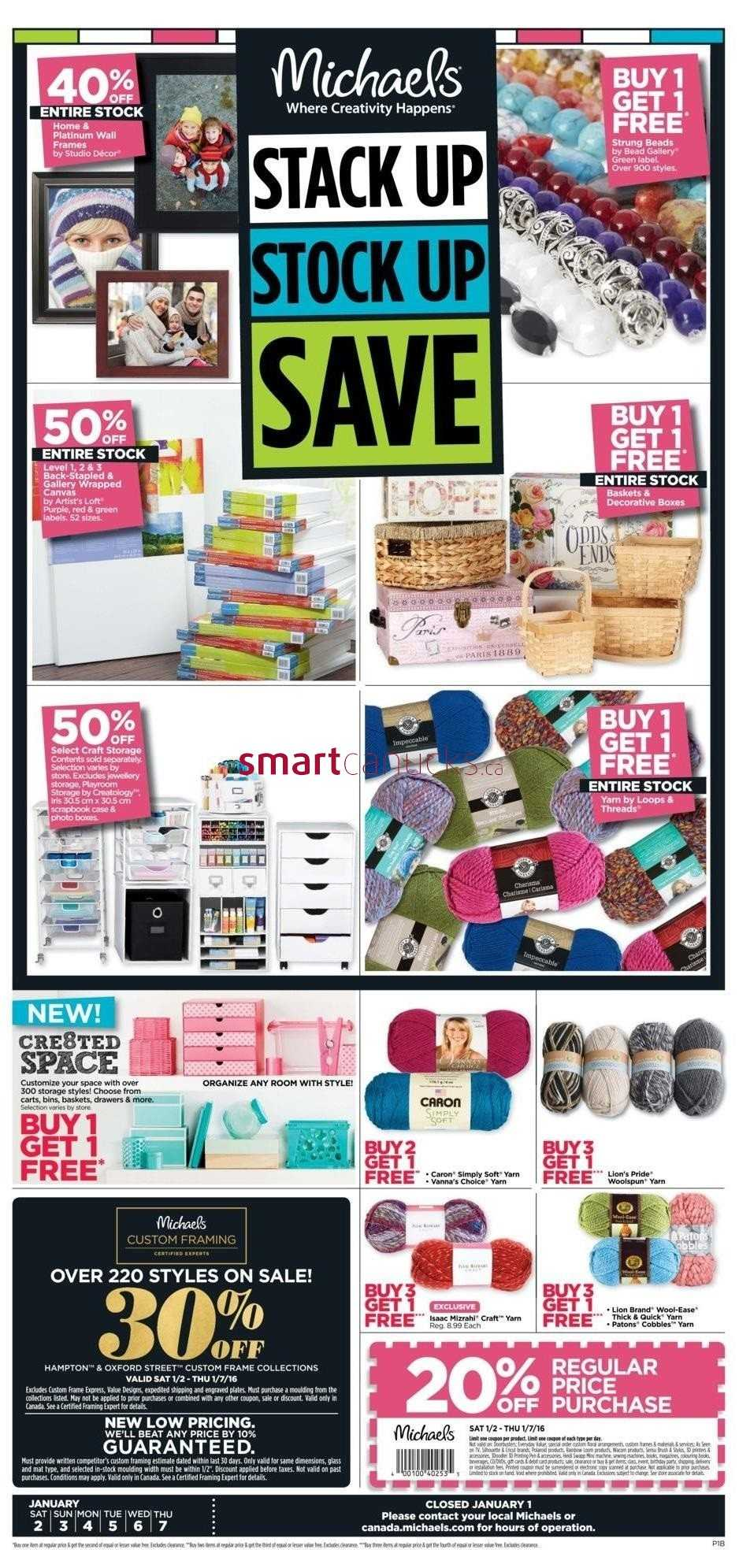 Michaels coupons canada flyerland