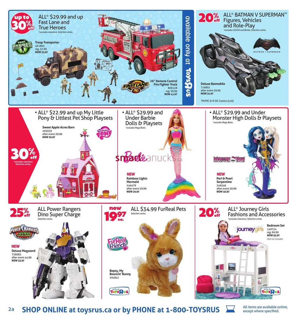 Toys R Us Flyer January 8 to 21