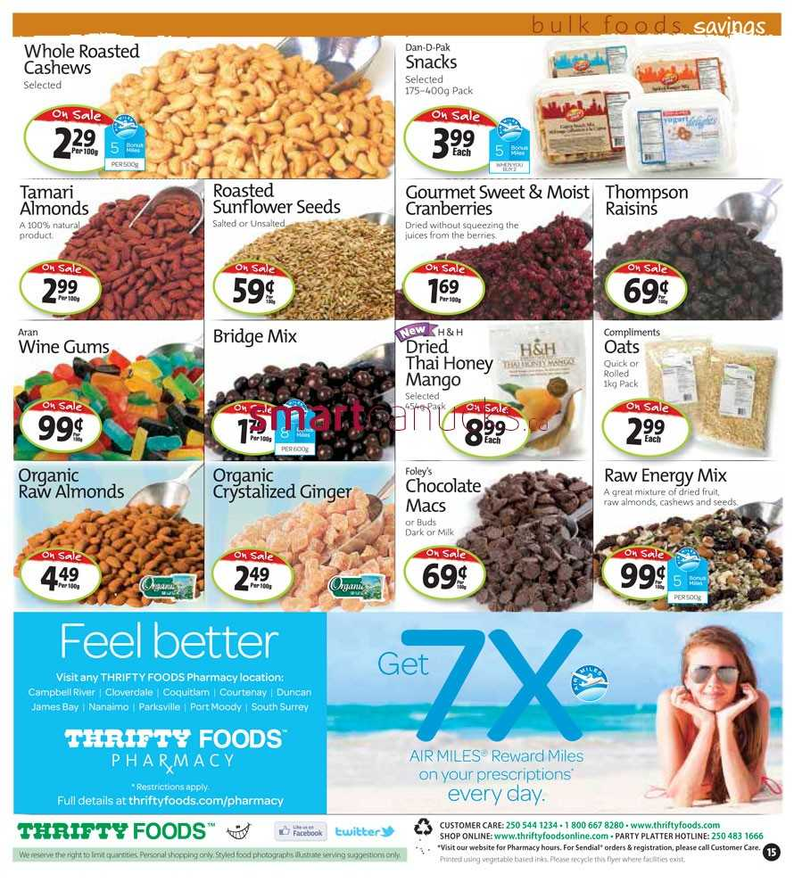 Thrifty foods 6 pack