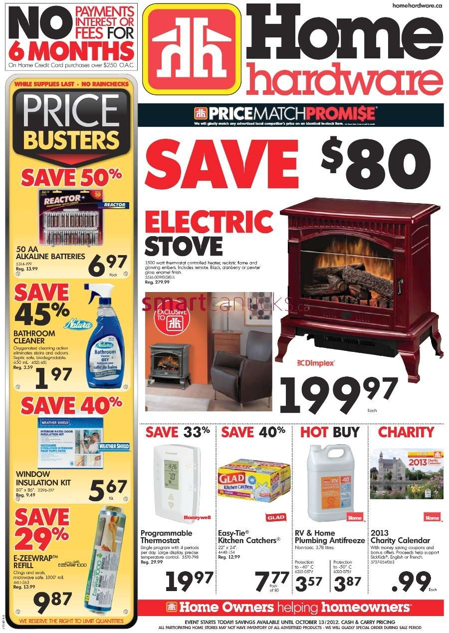 Home Hardware Foyer : Flyer home hardware oct to canada flyers
