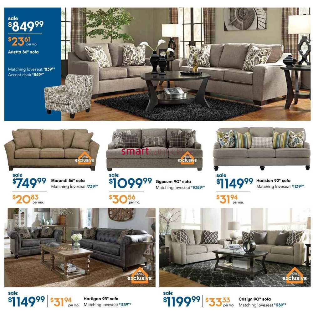 Ashley Furniture HomeStore (ON) Flyer January 7 To 27