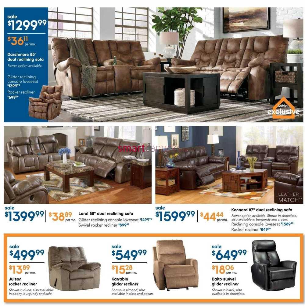 Homestore Inc: Ashley Furniture HomeStore (ON) Flyer January 7 To 27