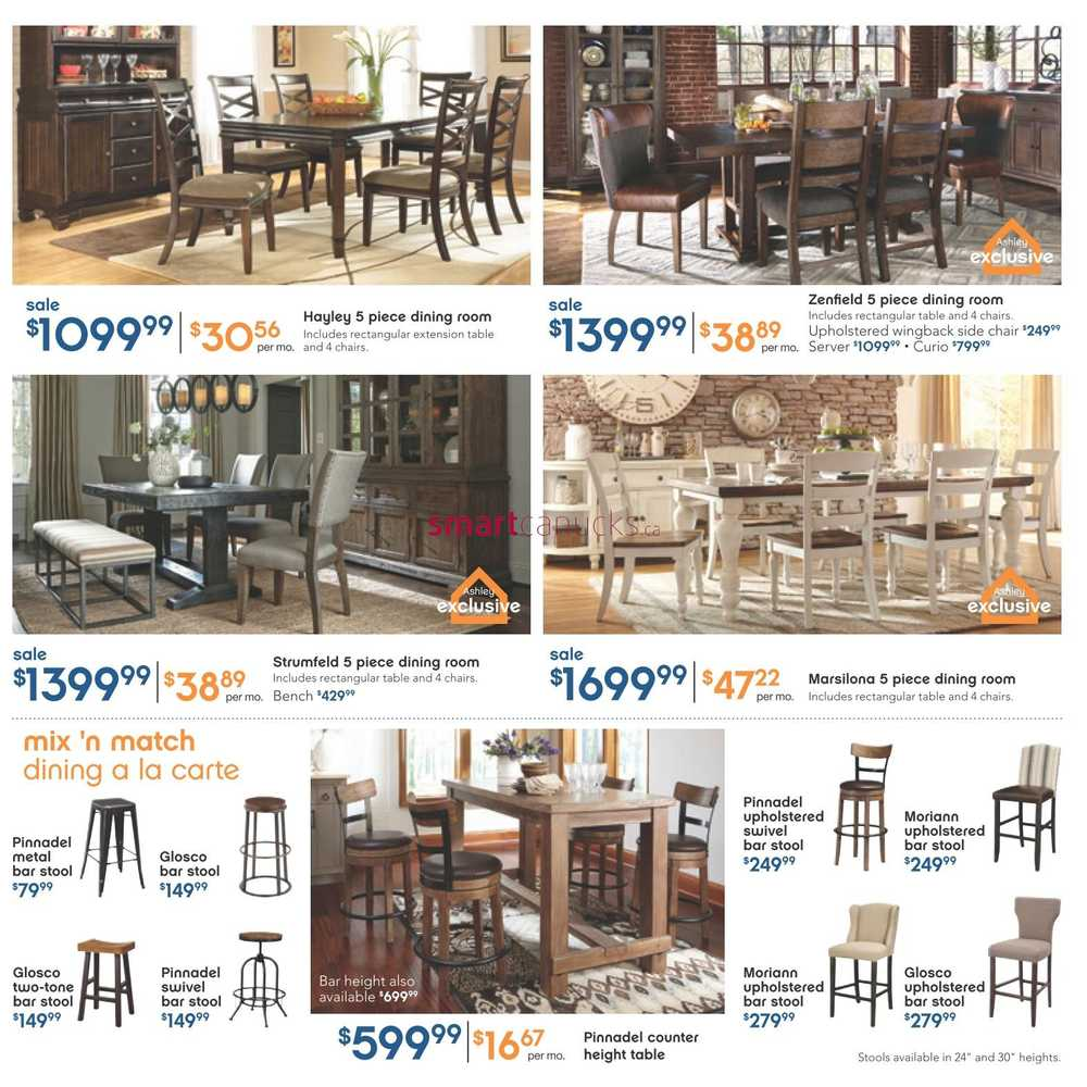 Ashley Furniture Homestore West Flyer January 7 To 27