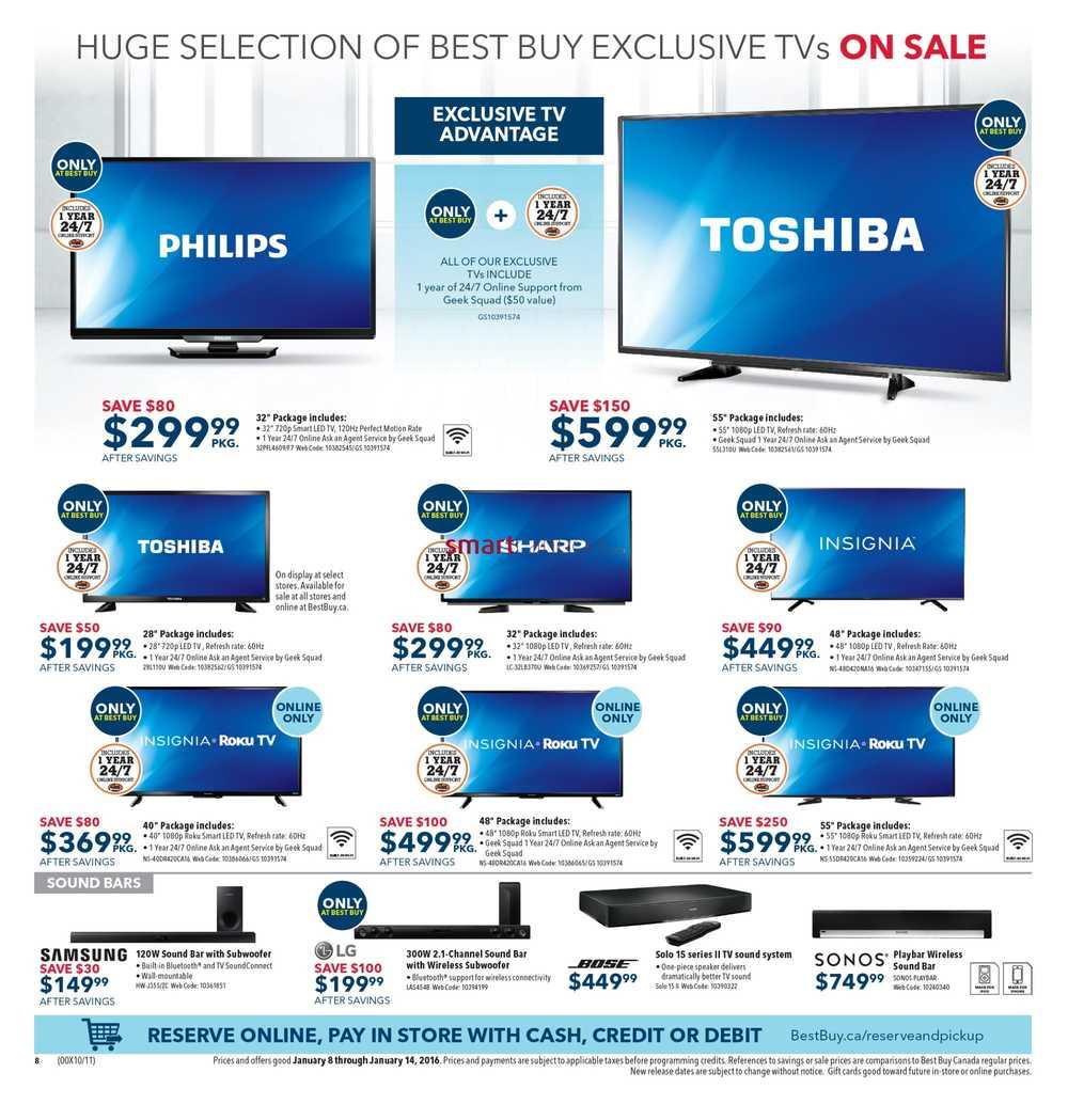 Best deals tv canada