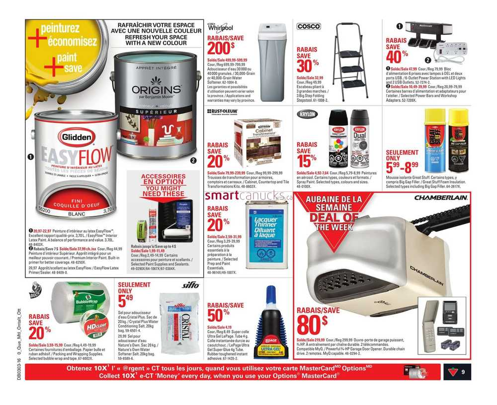 Slow Juicer Canadian Tire : Canadian Tire (QC) Flyer January 15 to 21