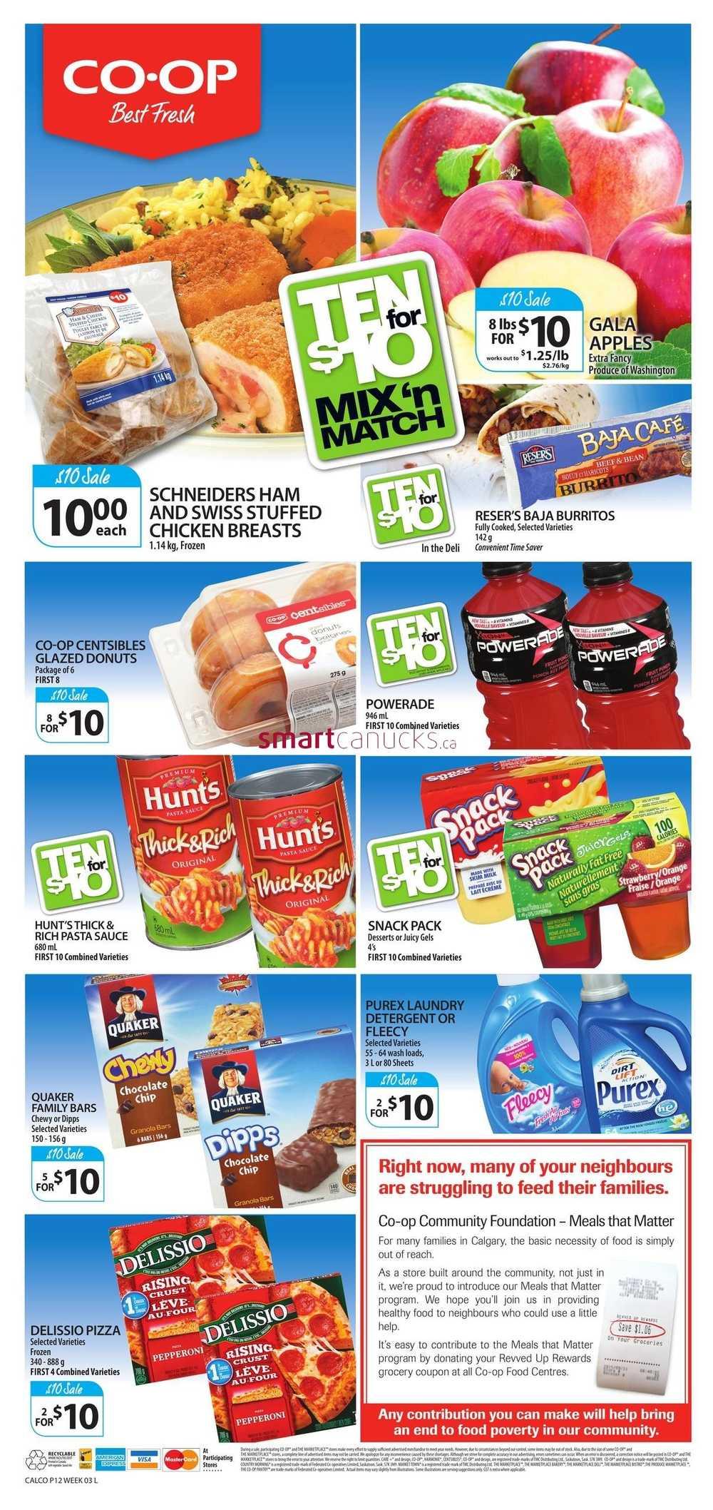 Calgary co op coupons