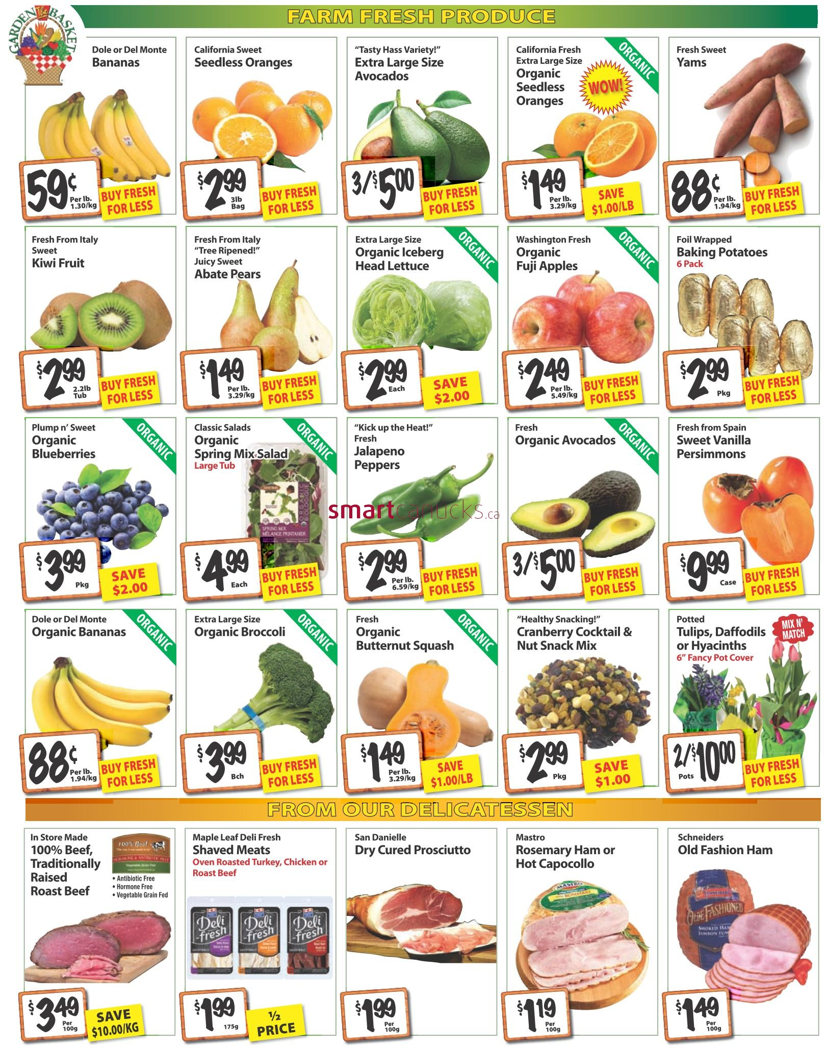 the garden basket flyer january 14 to 20
