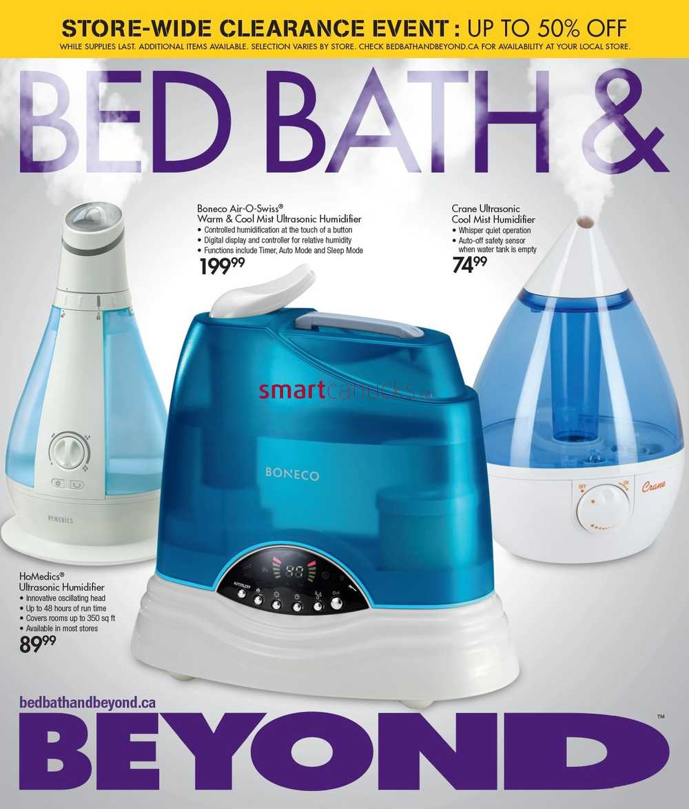 Bed Bath Amp Beyond Canada Flyers