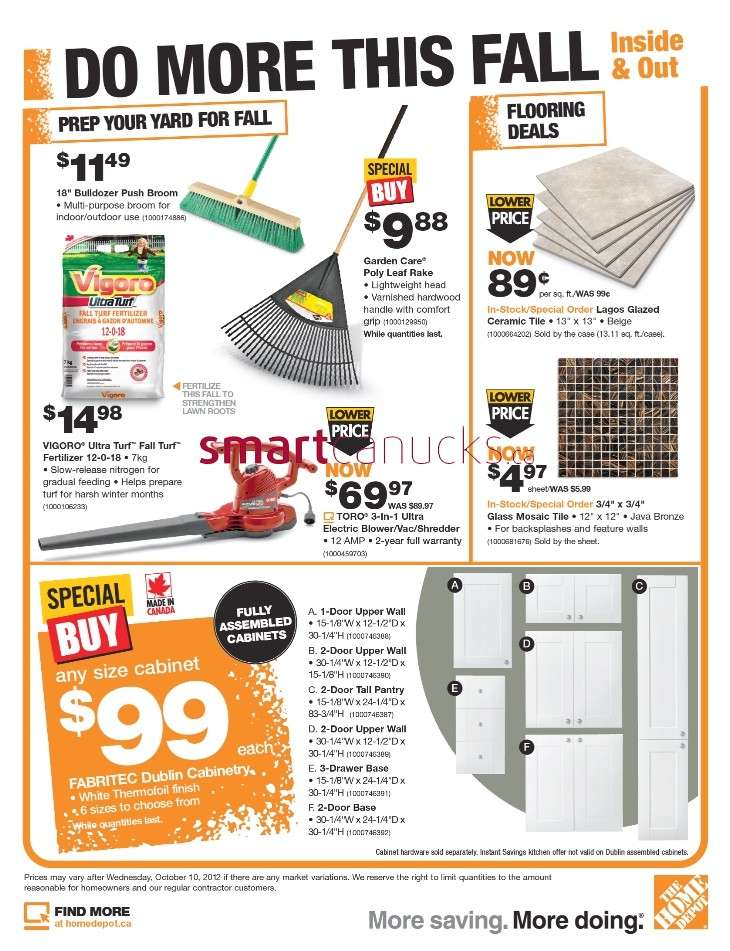 Home Depot Flyer London Ontario | Insured By Ross