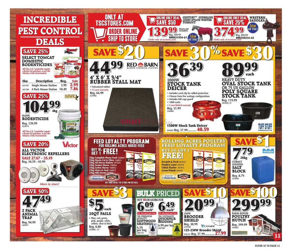 Tractor supply discounts and coupons