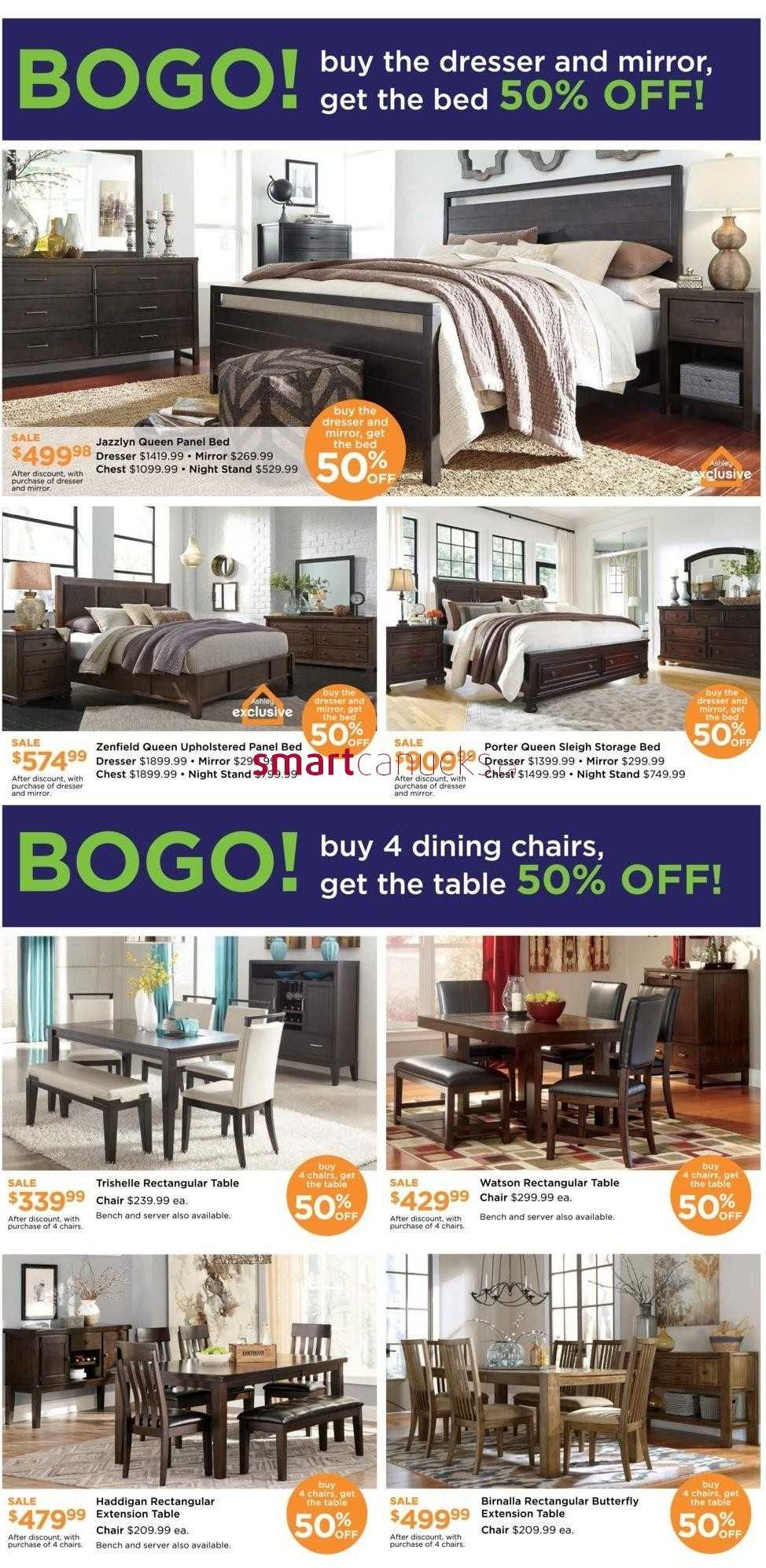 Ashley Furniture Homestore On Flyer January 29 To 31