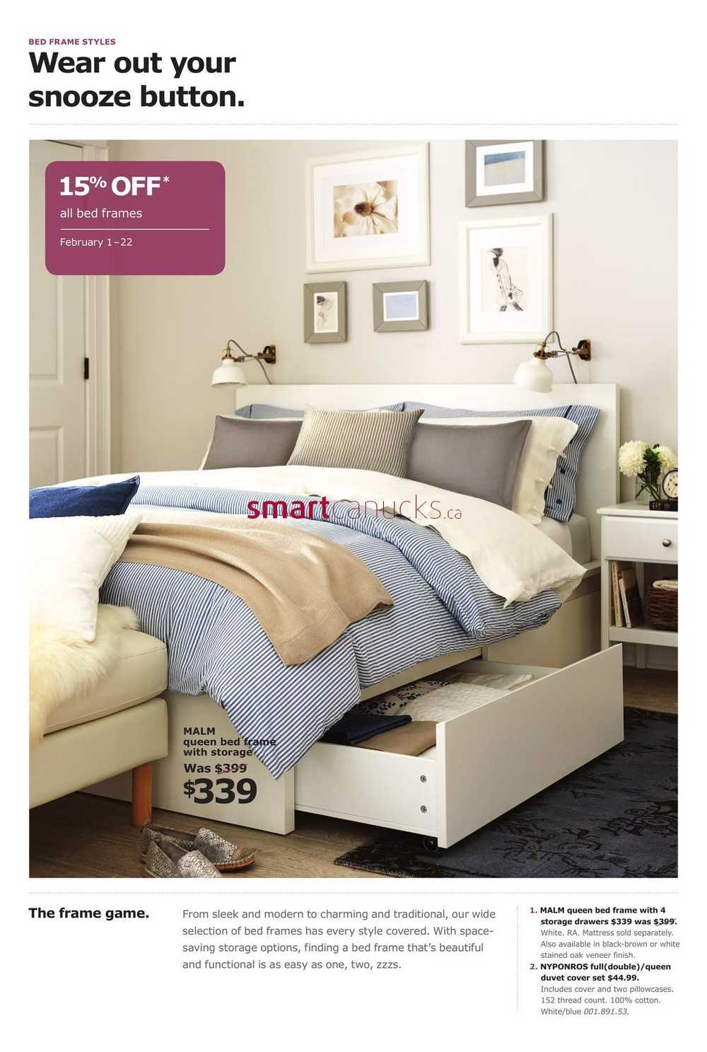 Ikea Bedroom Event Flyer February 8 to 8