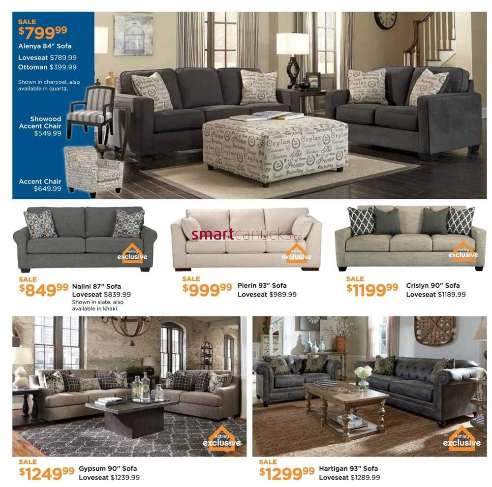 Ashley furniture homestore on flyer february 3 to 24 for Ashley furniture homestore canada