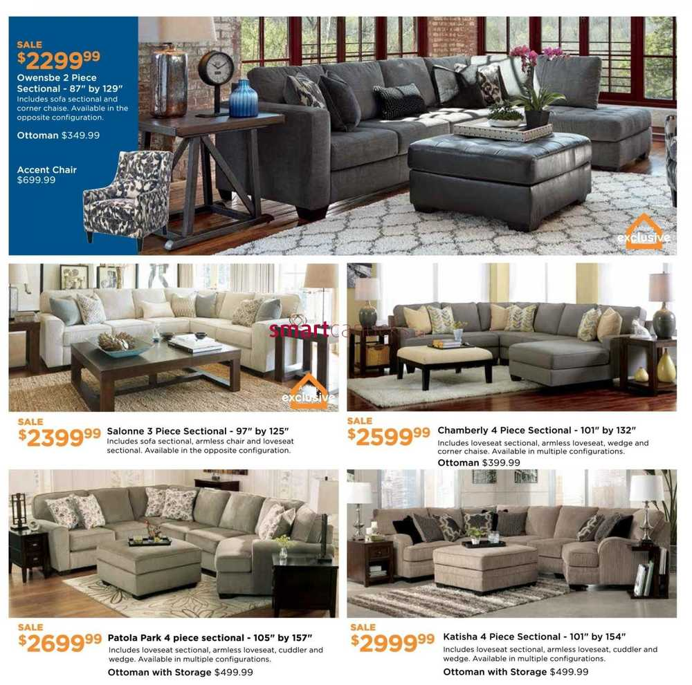 Ashley furniture homestore on flyer february 3 to 24 for Home shop 24
