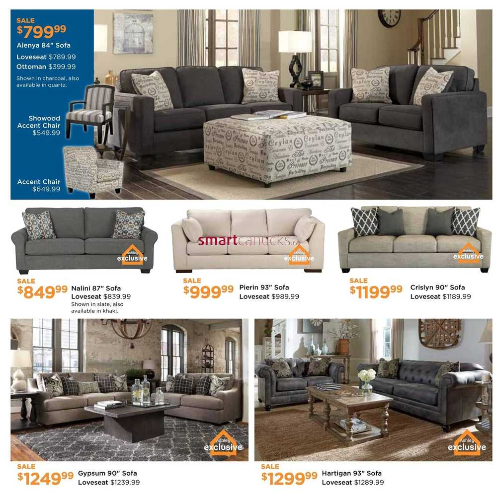 Ashley furniture homestore west flyer february 4 to 24 for Home shop 24