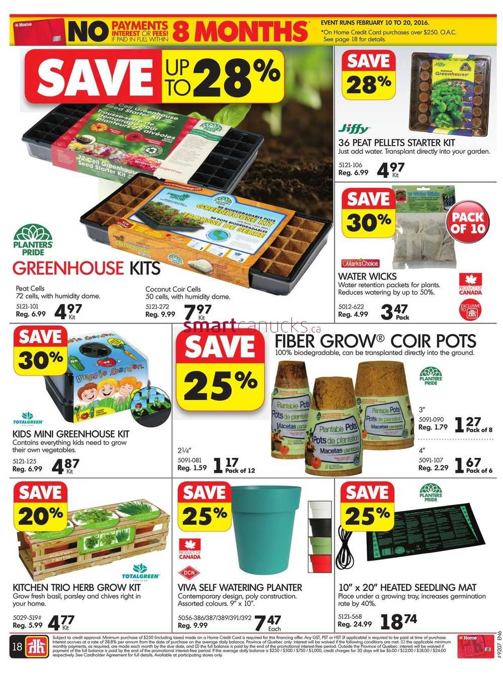 Home Hardware Foyer : Home hardware on flyer february to