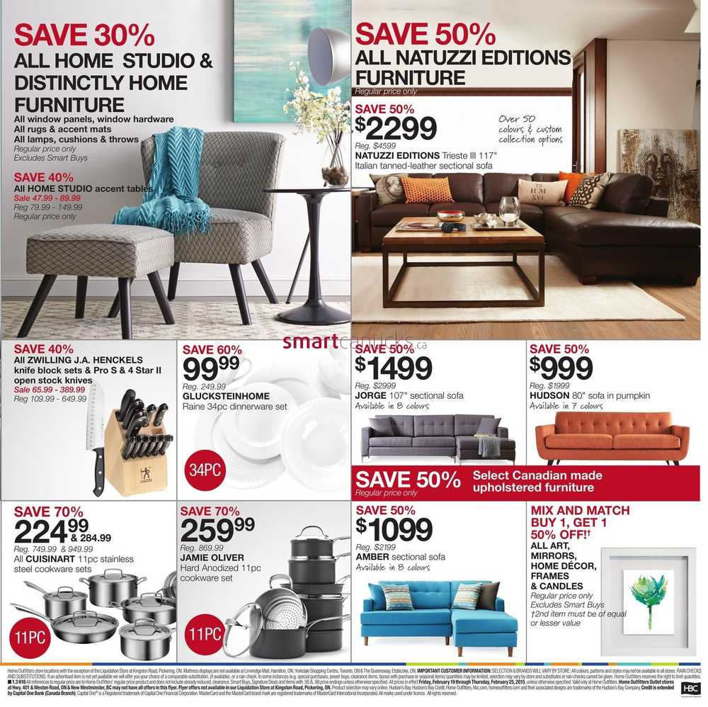 More Home Outfitters Flyers