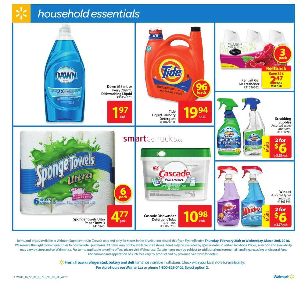 Walmart Atlantic Flyer February 25 To March 2