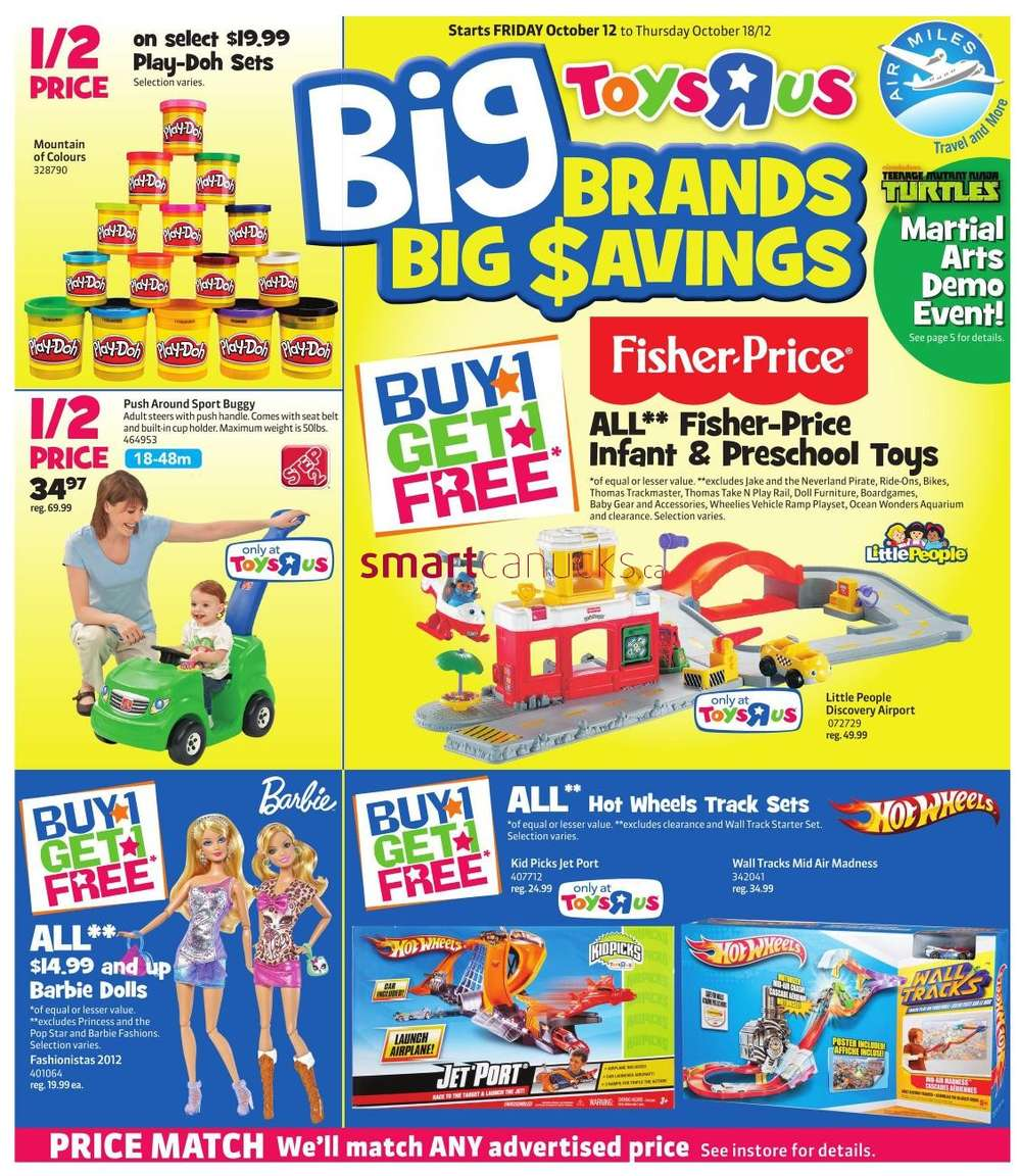 Toys R Us Flyer : Flyer toys r us oct to canada flyers coupons deals