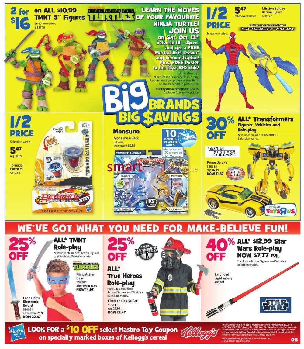 R Flyers Flyer Toys R Us flyer ...