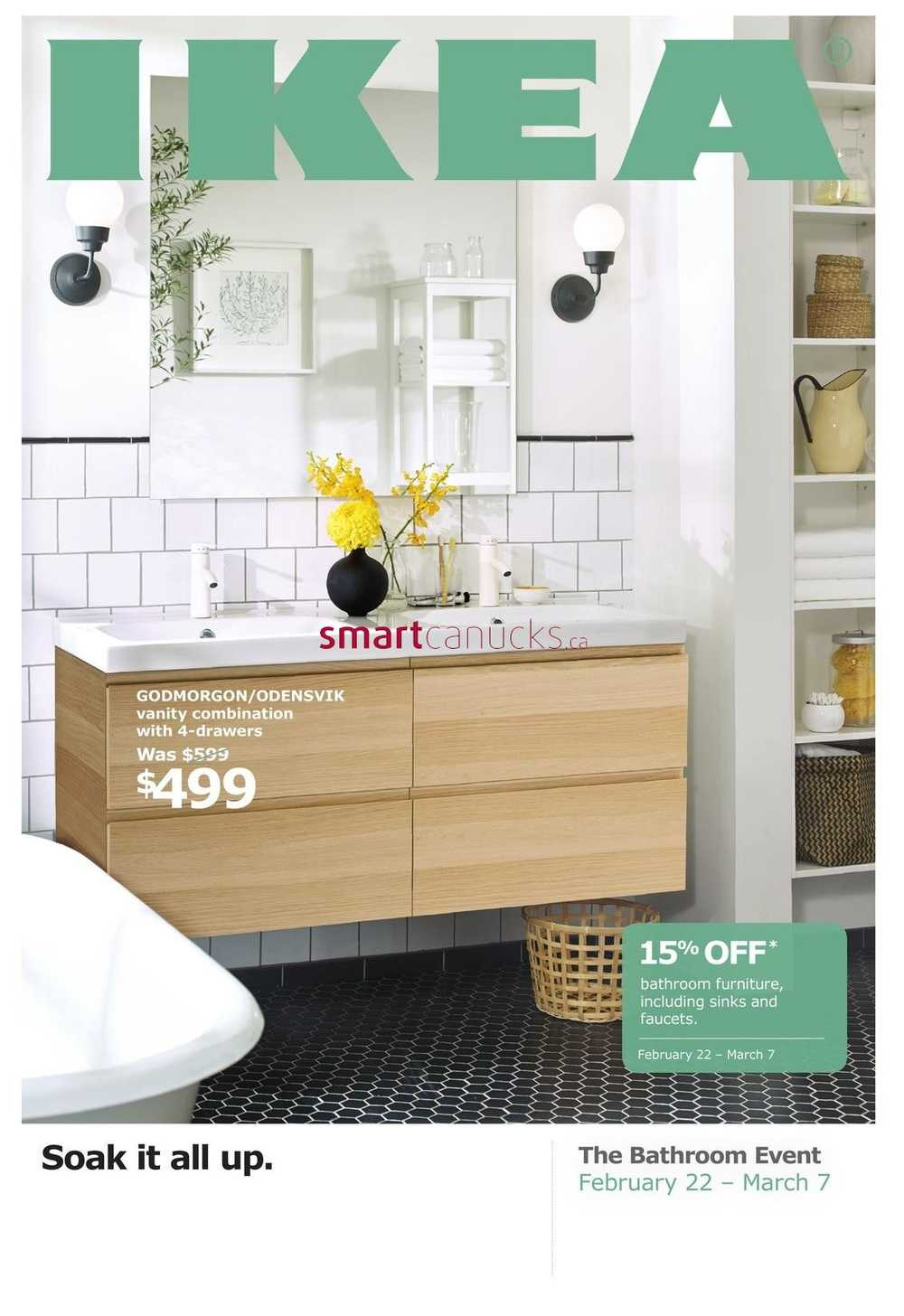 Ikea Bathroom Event Flyer February 22 To March 7