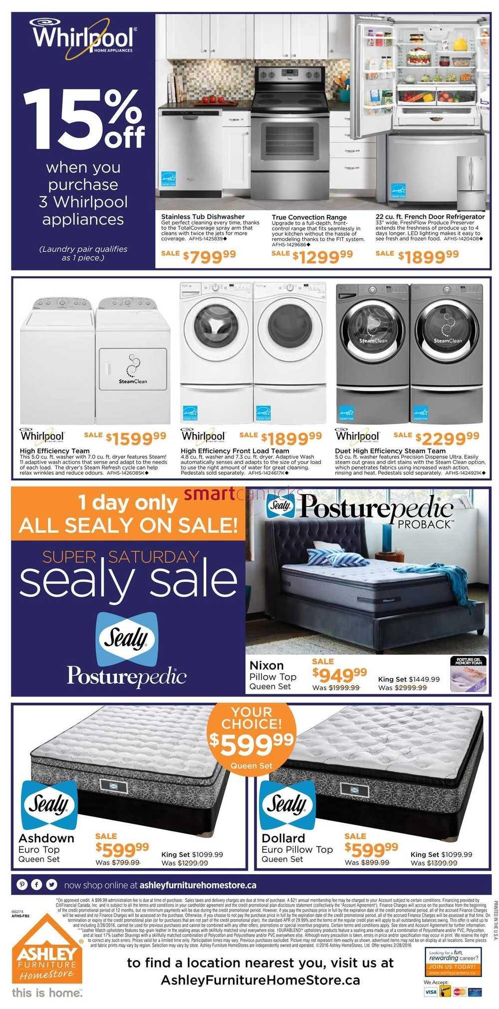 Ashley Furniture Sale Flyer