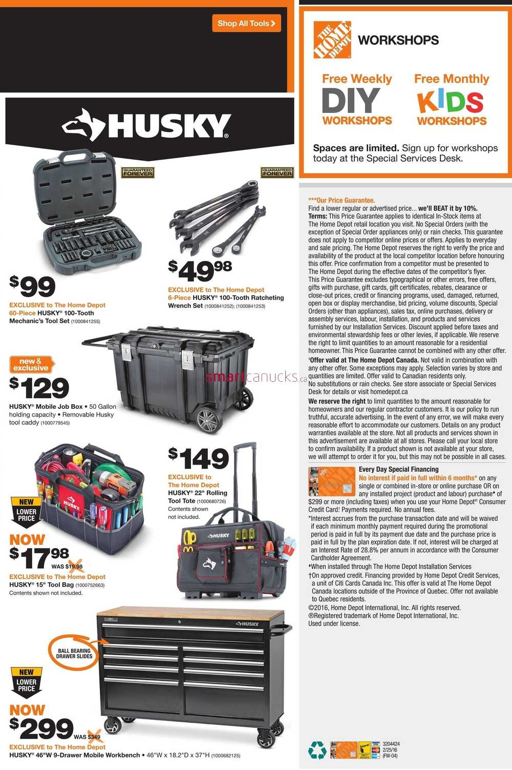 Home Depot On Flyer February 25 To March 2