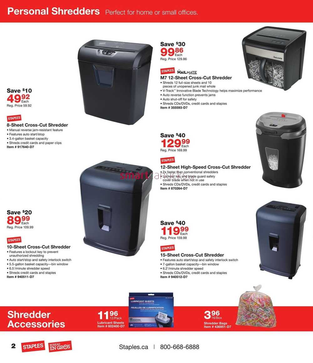 Staples business flyer march 2 to 15 more staples flyers reheart Images