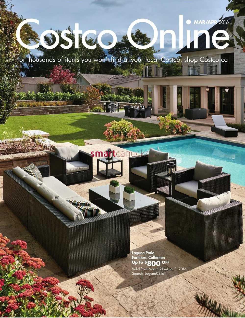 costco online catalogue march april. Black Bedroom Furniture Sets. Home Design Ideas