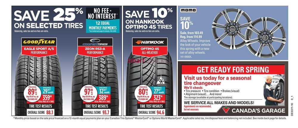 Canadian Tire On Flyer March 11 To 17