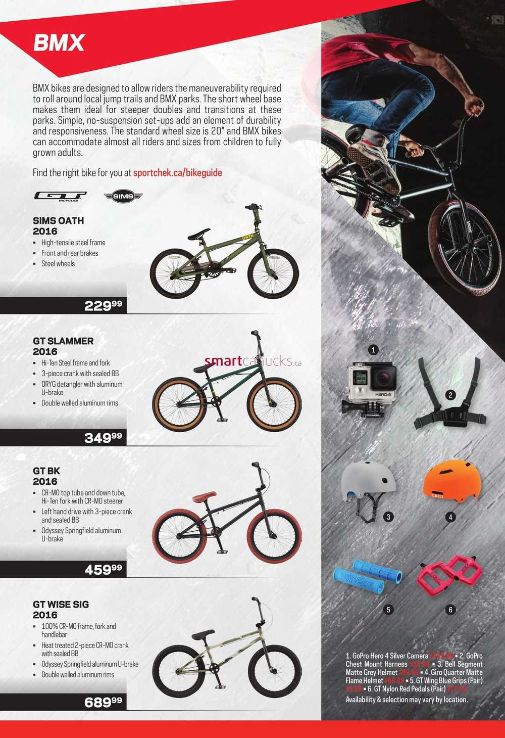 Sport Chek Bike Guide March 7 To October 31