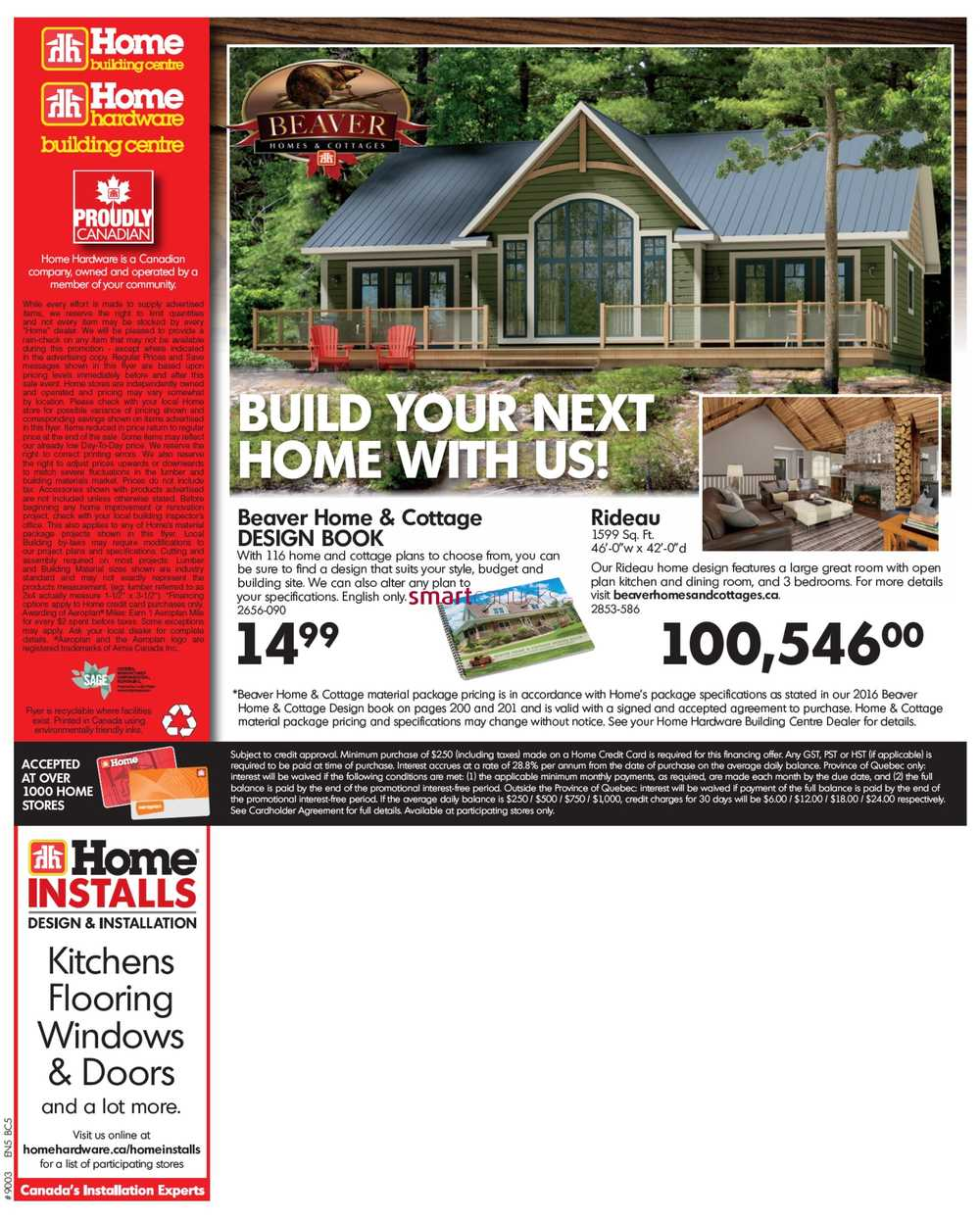 Home Hardware Building Centre Bc Flyer March 9 To 19